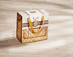 Magnet 3Pagen Podlouhlá dárková taška vysoká 20x20x10cm