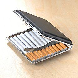 Magnet 3Pagen Pouzdro na cigarety, černá