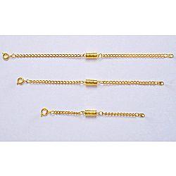 Magnet 3Pagen Prodloužení řetízků, zlatavá zlatá XL