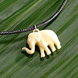 Magnet 3Pagen Řetízek na krk se slonem délka 50cm