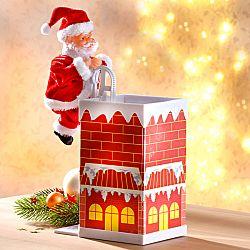Magnet 3Pagen Santa Claus na komíně