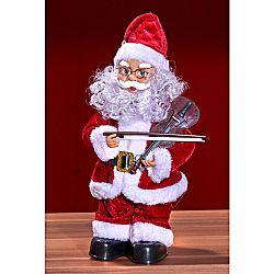 Magnet 3Pagen Santa Claus s houslemi
