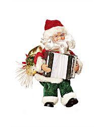 Magnet 3Pagen Santa s akordeonem