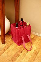 Magnet 3Pagen Taška na lahve červená