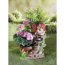 Magnet 3Pagen Trpaslík s květináči