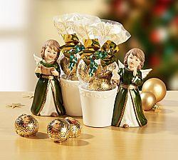 Magnet 3Pagen Vánoční anděl s cukrovinkami