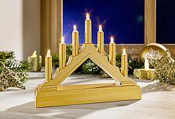 Magnet 3Pagen Vánoční LED svícen do okna