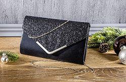 Magnet 3Pagen Večerní kabelka černá