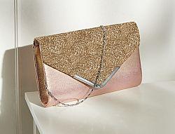 Magnet 3Pagen Večerní kabelka růžová/zlatá