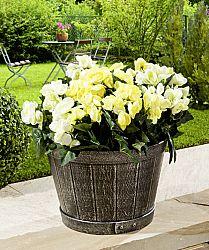 Magnet 3Pagen Vědra na květiny,2 ks stříbrná