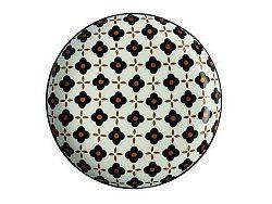 Maxwell & Williams dezertní talíř Marigold Black Flower 18,5 cm
