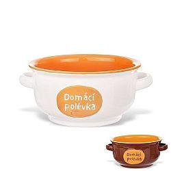 Miska keramická DOMÁCÍ POLÉVKA 1 l