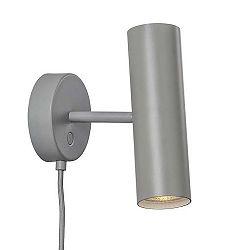 Nordlux MIB - O6cm, hloubka 24cm, šedá