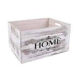 Orion Dřevěná bedýnka Sweet Home 40 x 30 cm