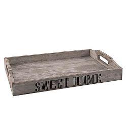 Orion Dřevěný podnos Sweet home 35x23x5,5 cm