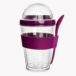Orion pohár na jogurt s víčkem 8,5cm
