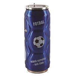 Orion Termoska-plechovka ner. 0,5 l fotbal modrá