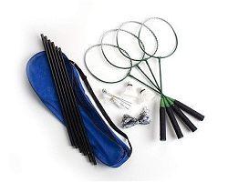 Sada na badminton pro 4 hráče