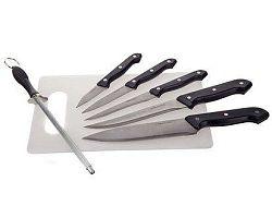 Sada nožů s krájecí deskou APETIT, 7 ks