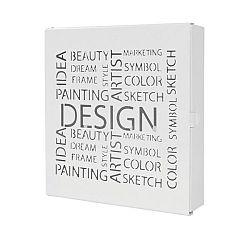 Skříňka Na Klíče Design Biela