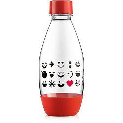 Sodastream Lahev dětská Smile Red 500ml