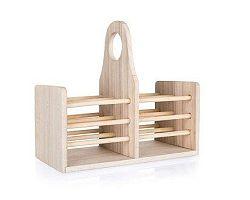 Stojan dřevěný na kuchyňské náčiní APETIT 20 x 10 x 18 cm