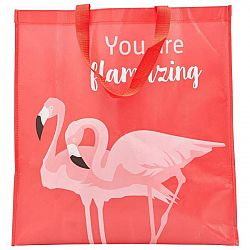 Taška Nákupní Flamingo Couple