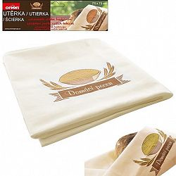 Utěrka kuchyňská bavlněná na chléb 70 x 70 cm