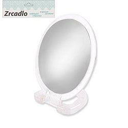 Zrcadlo kosmetické se stojánkem oboustranné